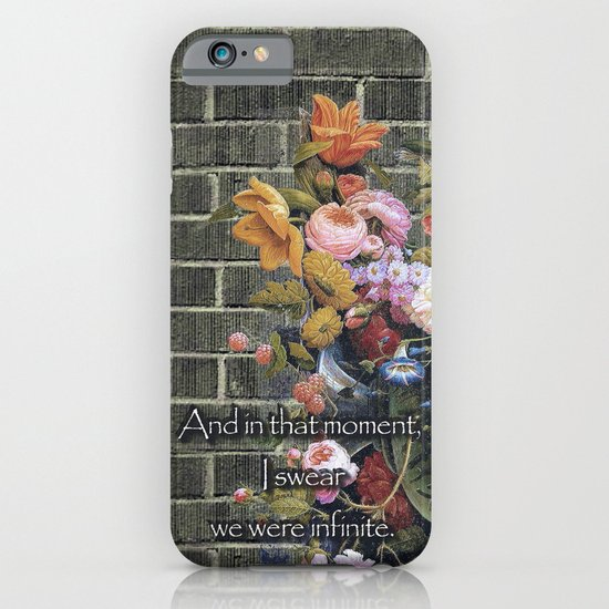 """""""And in that moment, I swear we were infinite."""" (The Perks of Being a Wallflower) iPhone & iPod Case"""