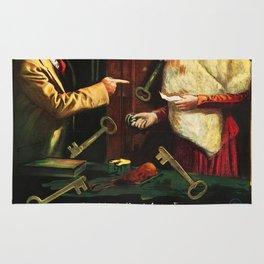Vintage poster - Seven Keys to Baldpate Rug
