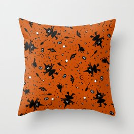 Forever Autumn Pattern Throw Pillow