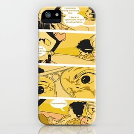 Holy Jesus, What Are These Goddammed Animals? iPhone Case