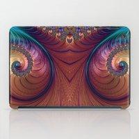 twin peaks iPad Cases featuring Twin Peaks by Steve Purnell
