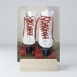 Roller Skates Mini Art Print