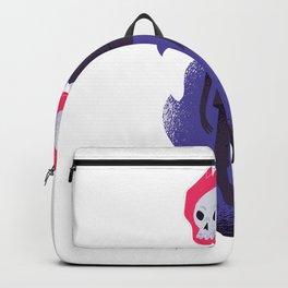Halloweens skull flaming Best Gift Backpack