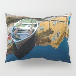 Scandinavian Row Boat Pillow Sham