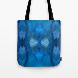 Pattern III Blue Tote Bag