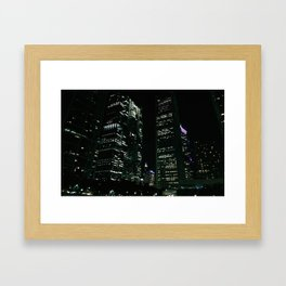 Chicago Nights Framed Art Print