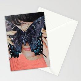 Morpho Butterfly Stationery Cards