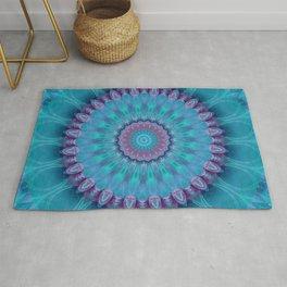 Mandala turquoise no. 2 Rug