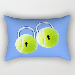 Ball Locks Rectangular Pillow