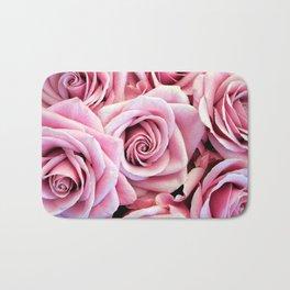 Pink Roses Bath Mat
