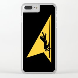 Fighter Squadron Twenty One VF-21 Freelancers Tail Clear iPhone Case