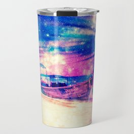 Space boat Travel Mug