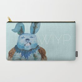 Blue Rabbit What Is Your Problem?! Carry-All Pouch