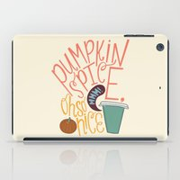spice iPad Cases featuring Pumpkin Spice by Chelsea Herrick