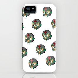 Mexican Wrestler Kewpie Baby / Lucha libre iPhone Case