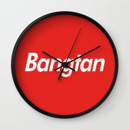 BTS Bangtan Box Logo Wall Clock