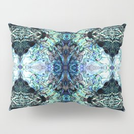 Paua Shell  Inspired Pattern Pillow Sham