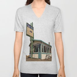 Abandoned Taco Time Unisex V-Neck