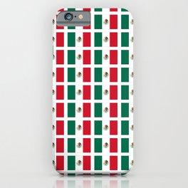Flag of mexico 2- mexico,mexico city,mexicano,mexicana,latine,peso,spain,Guadalajara,Monterrey iPhone Case