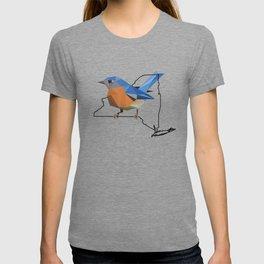 New York – Eastern Bluebird T-shirt