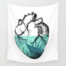 Sinking Heart Wall Tapestry