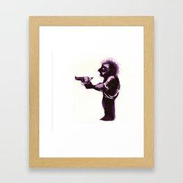 Hand of Fate Gun. Framed Art Print