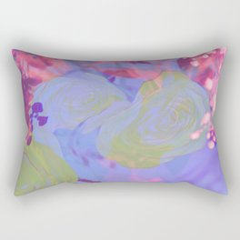 Kawaii Pretty Springtime Sparkle Rectangular Pillow