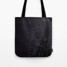 Spaceman Tote Bag