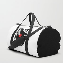 Vinyl Rules Music Quotes Duffle Bag