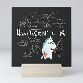 Unicorn = real Mini Art Print