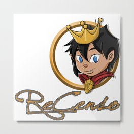Re_Censo official youtube channel design Metal Print