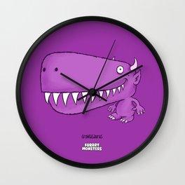 Growlasaurus Wall Clock