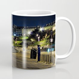 View of Plymouth Hoe at Night / Early Morning Coffee Mug