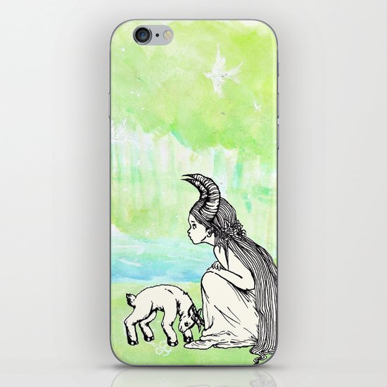 Welcome Home Capra Princess iPhone & iPod Skin