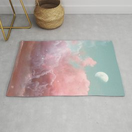Lonely Moon Rug