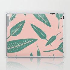 Leaves pink Laptop & iPad Skin