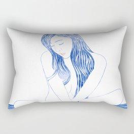 Water nymph XCVIII Rectangular Pillow