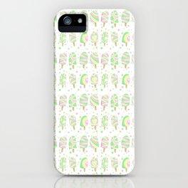 Summer pastel ice lollies iPhone Case
