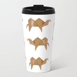 Origami Camel Metal Travel Mug