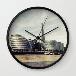 London city view Wall Clock