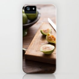 Fresh Figs iPhone Case