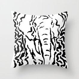 Decora Elephant Throw Pillow