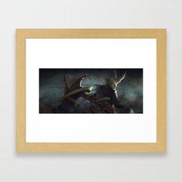 Shape Shifter and Paper Folder Framed Art Print