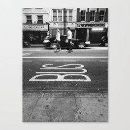Shoreditch Canvas Print