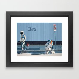 The Parking Ticket Framed Art Print