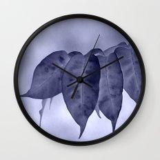 The curtain #2 Wall Clock
