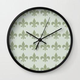 Classy Elegant Pattern Wall Clock