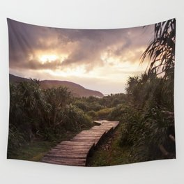 Blue Hour at Green Island, Taiwan Wall Tapestry