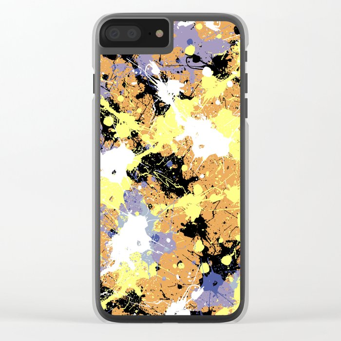 Abstract 20 Clear iPhone Case