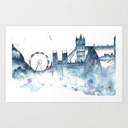 I dream of London Art Print